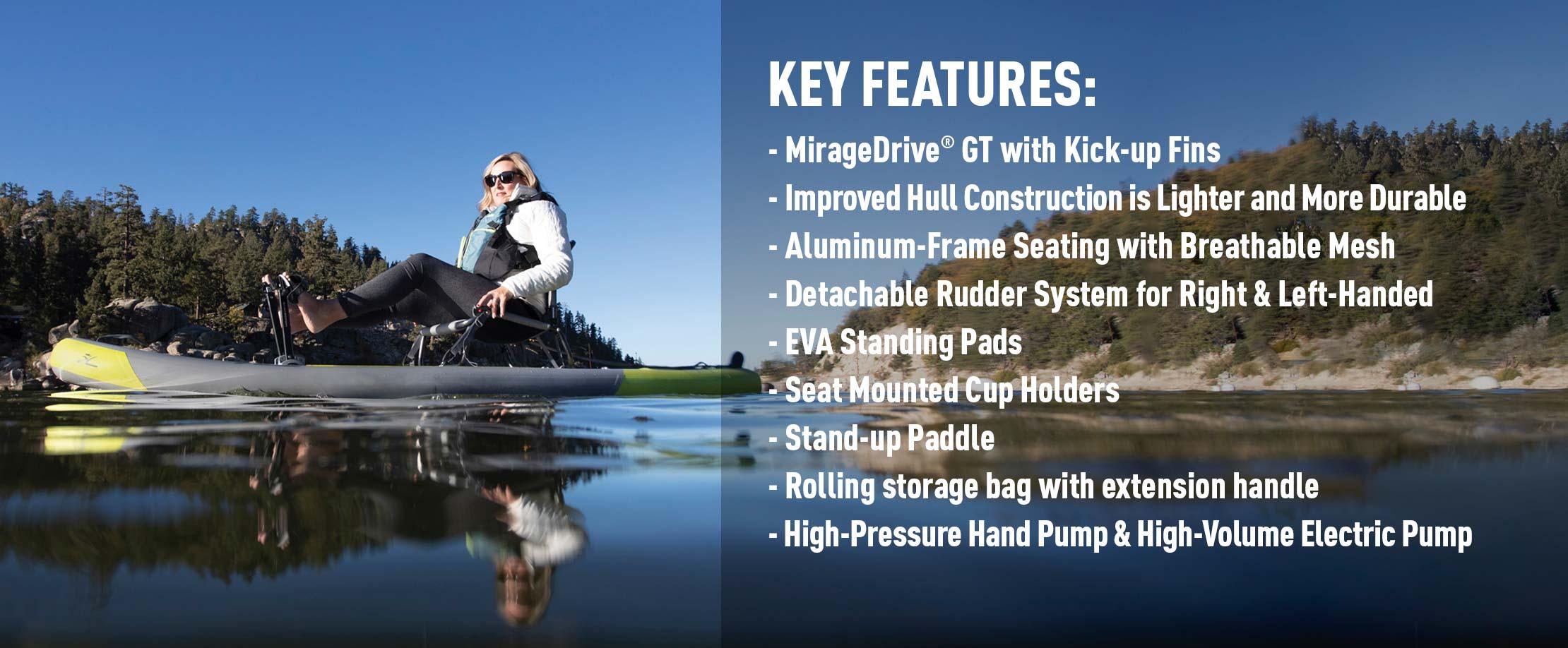Mirage iTrek 9 Ultralite Features
